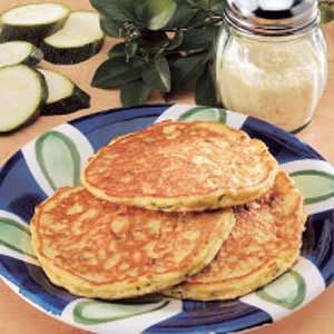 Contest-Winning Zucchini Pancakes Recipe
