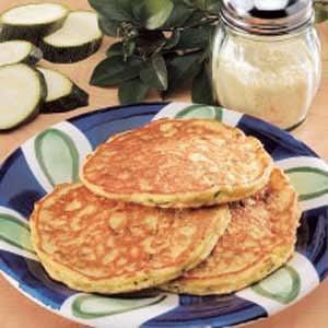 Contest-Winning Zucchini Pancakes Recipe