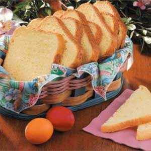 Golden Egg Bread Recipe