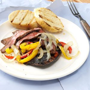 Bourbon Steak Portobellos Recipe