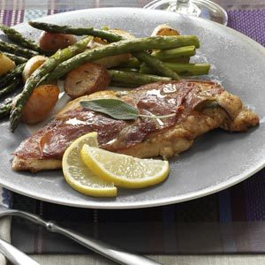 Sage & Prosciutto Chicken Saltimbocca Recipe