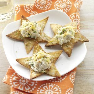 Crispy Lime Chips with Crab Recipe