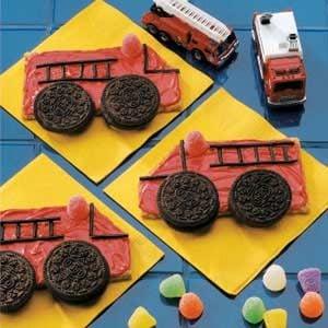 Fire Truck Cookies Recipe