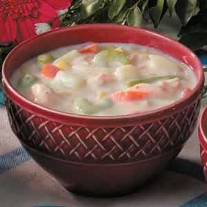 Easy Salmon Chowder Recipe