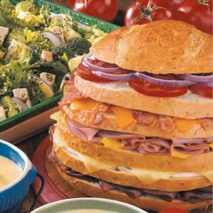 Giant Sandwich Recipe