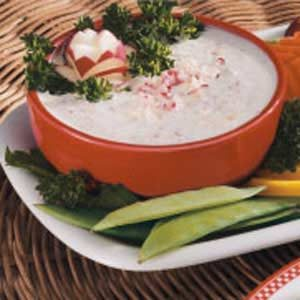 Yogurt Veggie Dip Recipe