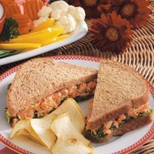 Garden Tuna Sandwiches Recipe