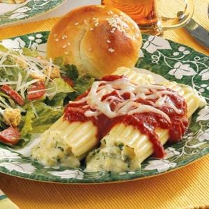 Special Cheese Manicotti Recipe