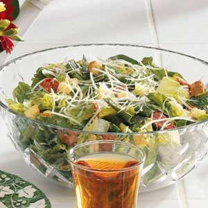 Pepperoni Caesar Salad Recipe