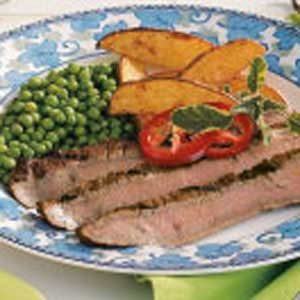 Favorite Grilled Flank Steak Recipe