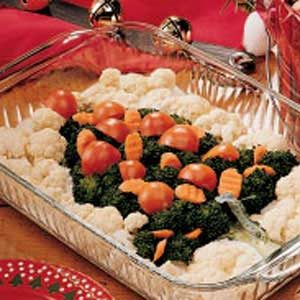 Veggie Christmas Tree Recipe