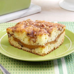 Sour Cream-Pumpkin Coffee Cake