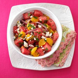 Mandarin Watermelon Salad Recipe