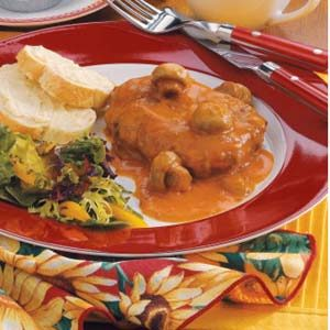 Salisbury Steak for Two Recipe