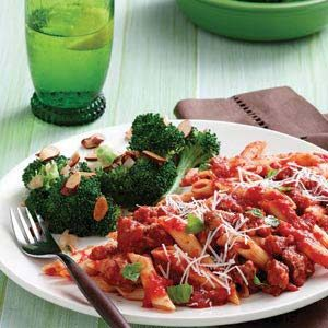 Broccoli with Almonds Recipe