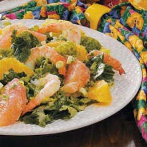 Citrus Shrimp Salad Recipe