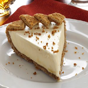 Frozen Maple Mousse Pie Recipe
