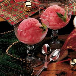 Quick Cranberry Ice Recipe
