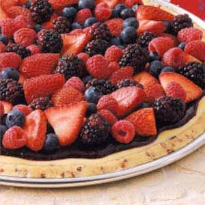 Brunch Berry Pizza Recipe