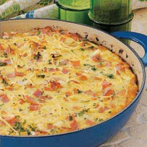 Pasta Frittata Recipe photo by Taste of Home