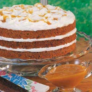 Butterscotch Torte Recipe