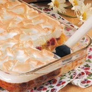 Rhubarb Meringue Dessert Recipe