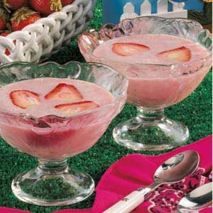 Chilled Spiced Strawberry Soup Recipe