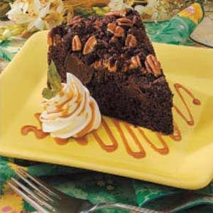 Nutty Fudge Torte Recipe