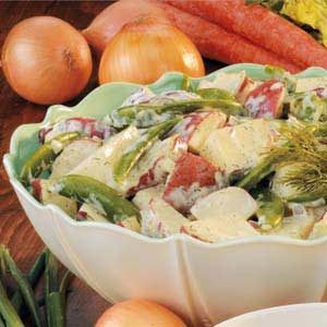 Sugar Snap Potato Salad Recipe