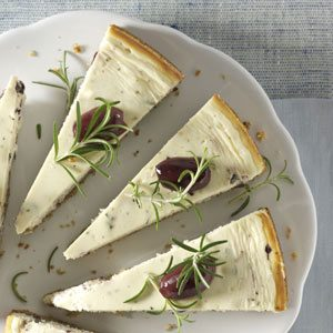 Kalamata Cheesecake Appetizer Recipe