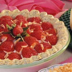 Poppy Seed Strawberry Pie Recipe