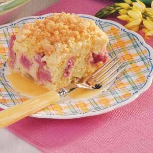 Special Rhubarb Cake Recipe