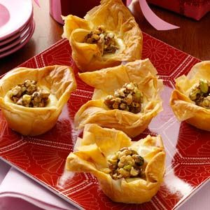 Baklava Cheesecake Tarts Recipe