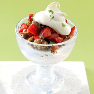 Strawberry Tarragon Crumble Recipe