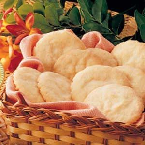 Crisp Lemon Sugar Cookies Recipe