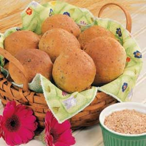 Sunflower Wheat Rolls Recipe