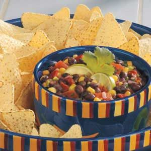 Tomato Black Bean Salsa Recipe