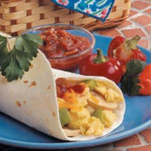 Suppertime Egg Burritos Recipe