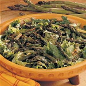 Light Roasted Asparagus Salad Recipe