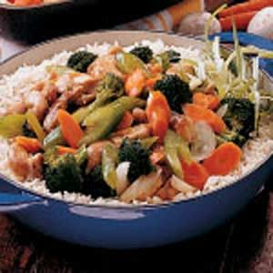 Chicken Stir-Fry Recipe