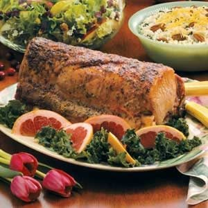 Tangy Pork Loin Roast Recipe