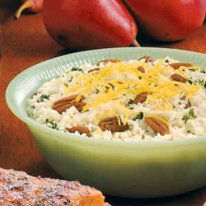 Lemon Pecan Pilaf Recipe