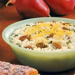 Lemon Pecan Pilaf Recipe