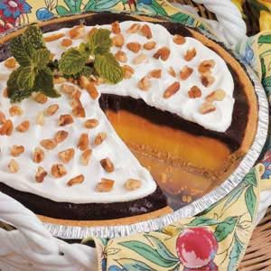 Ribbon Pudding Pie Recipe