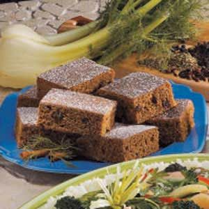 Spice Bars Recipe