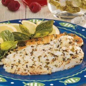 Basil-Marinated Fish Recipe