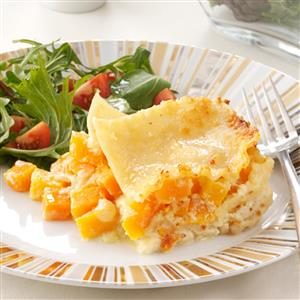 Golden Butternut Squash Lasagna Recipe