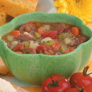 Sausage Lentil Stew Recipe