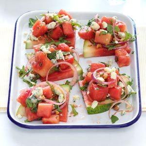 Juicy Watermelon Salad Recipe