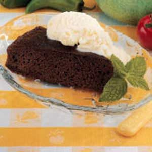 Rich Chocolate Snack Cake Recipe
